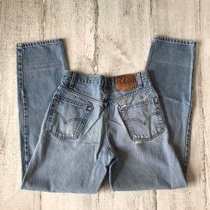 Vintage Levi's Jeans 550 30/32 Thrashed